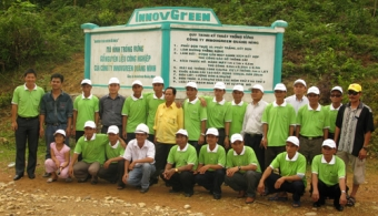 A meaningful field trip of local officials from Tay Giang district, Quang Nam province